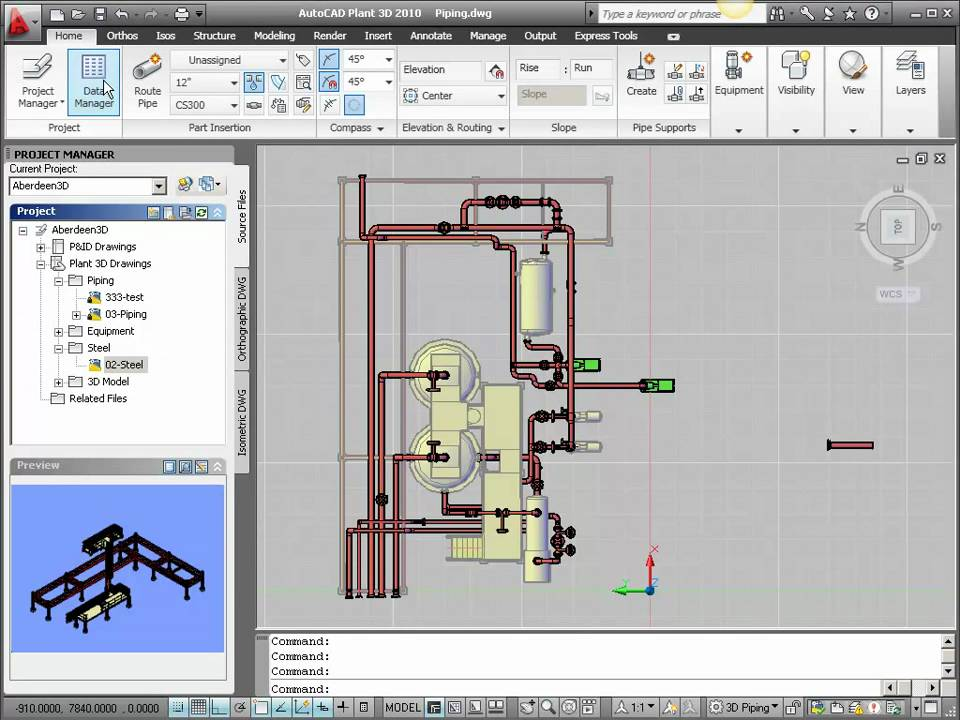 Bill of materials in autocad plant 3d youtube for Plante 3d dwg