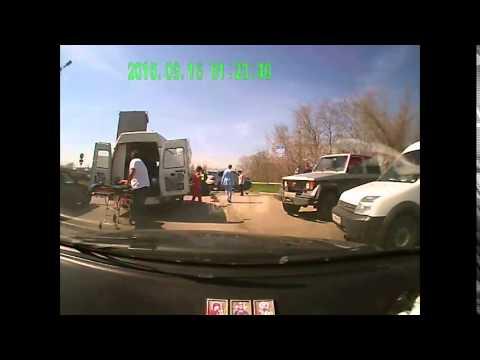 Авария в таганроге .беспредел пьяных сотрудников полиции