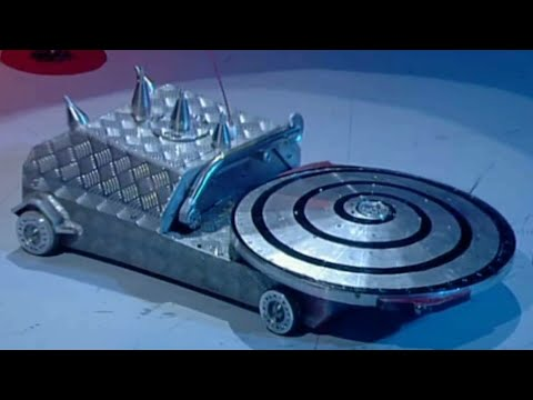 Hypno-Disc - Series 6 All Fights - Robot Wars - 2002