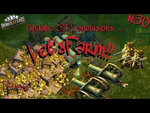 #388 DomiNations #30. Let'sFarm - Traps concern, new Alliance and 5.3 conclusions