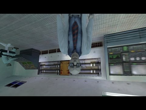 Let's play Half-Life... UPSIDE DOWN (Part I)