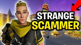 Insane Strange Kid Loses Whole Inventory! (Scammer Get Scammed) Fortnite Save The World