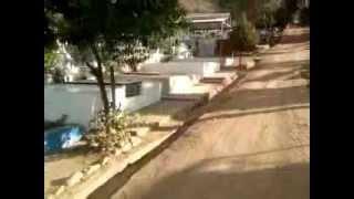 aparece fantasma cementerio de la calera 7 pm Chile