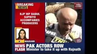Babul Supriyo Along With Producers Of 'Ae Dil Hai Mushkil' To Meet Home Minister