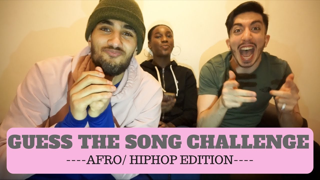 GUESS THE SONG CHALLENGE (AFRO/HIPHOP EDITION) !!!