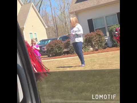 South Douglas Elementary School Car Parade (Teacher Perspective)
