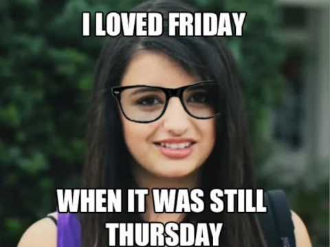 Rebecca Black - Friday 800% stretched