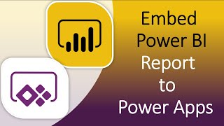 Embed Power BI Report to Power Apps Canvas App | Power BI and Power Apps