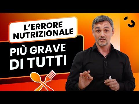 L'errore nutrizionale più grave di tutti? Banale quanto vero! | Filippo Ongaro