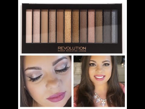Date night soft glam makeup revolution iconic 1 palette for Soft revolution