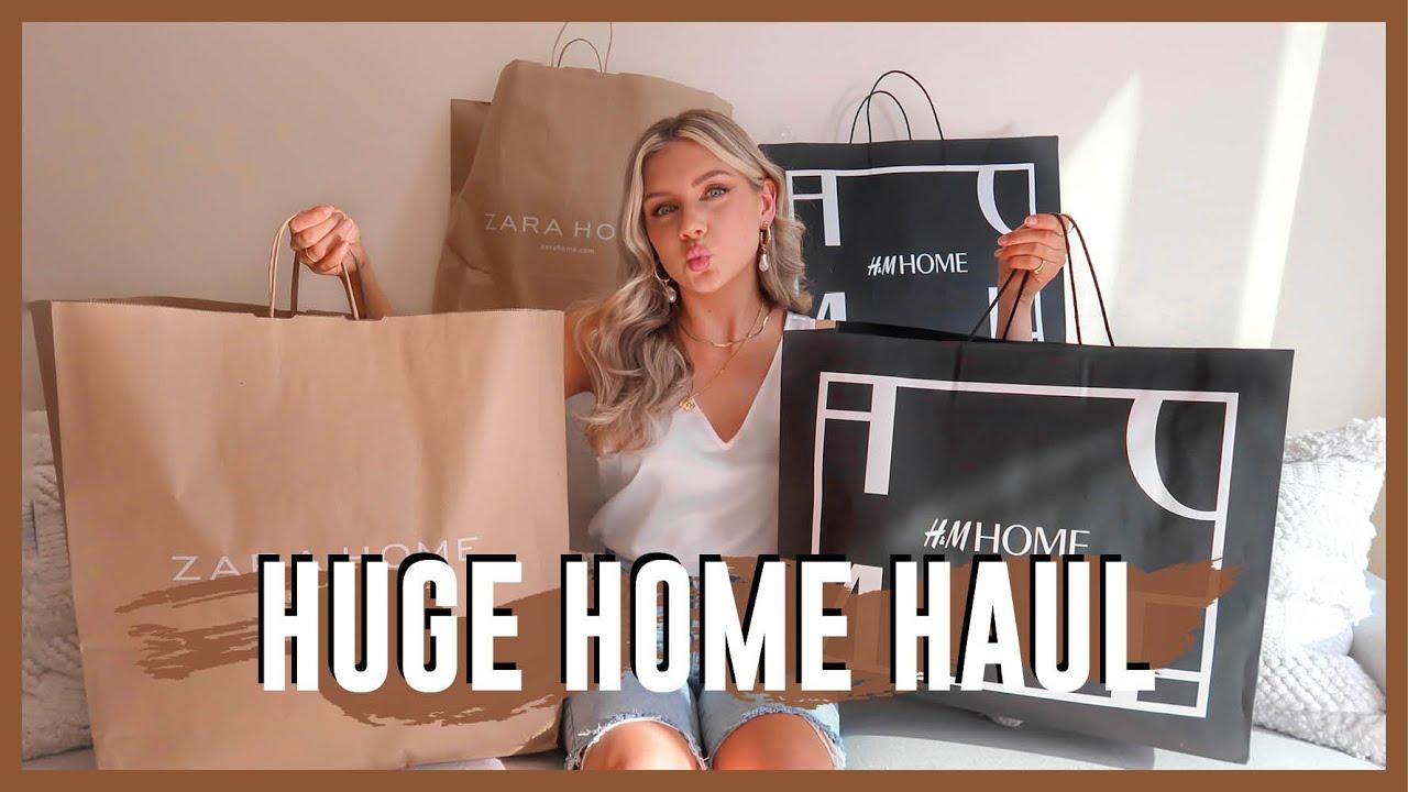 ZARA HOME & H&M HOME SHOP   Homeware Haul