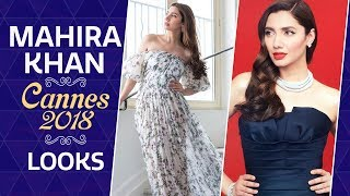 Cannes 2018: Mahira Khan stuns in black on the red carpet of the Cannes Film Festival | Pinkvilla