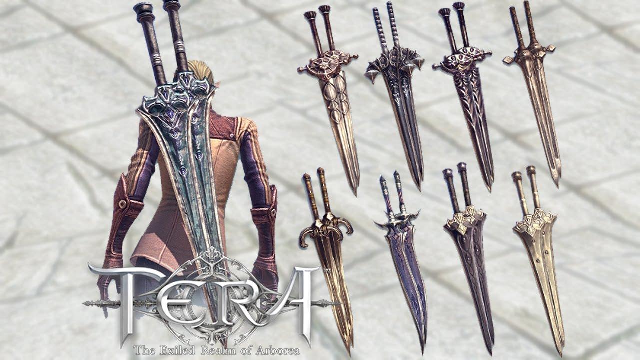TERA Weapons Collection for Skyrim at Skyrim Nexus - mods