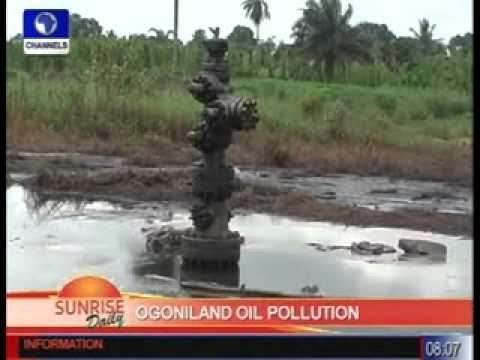 sd briggs on ogoniland oil pollution pt1 080811