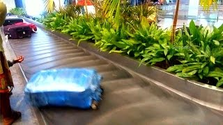 Luggage Belt at the Airport, Bangalore