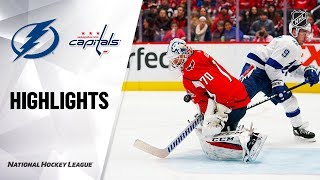 NHL Highlights | Lightning @ Capitals 11/29/19