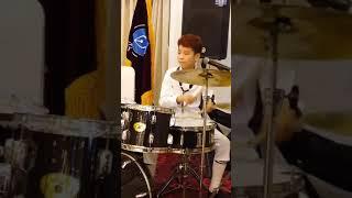 정동원 와이프아웃 드럼연주