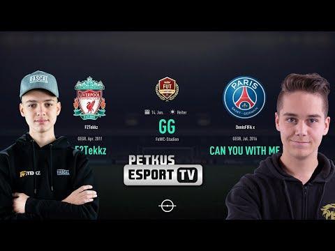 F2Tekkz Vs. DenisFIFA X 🎮🔥 - Fut Champions Channel - WL38 - FIFA19- HD