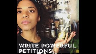 How to Write PowerFULL Petitions- They DO Work!!!
