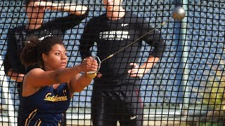Cal sophomore Camryn Rogers is named 2019 NCAA Track and Field Hammer Throw Champion