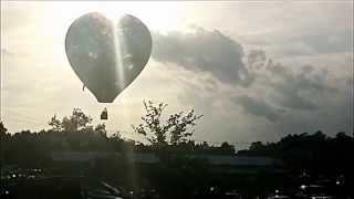 Raw Video - Hot Air Balloon crash in Murfreesboro, TN !
