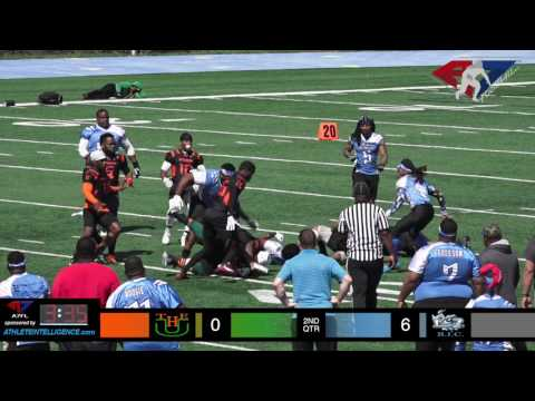 A7FL 2017 Week 5 - Paterson NJ U vs NJ BIC