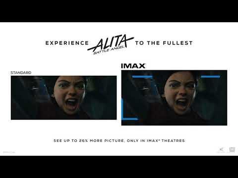 Preview the 'Alita: Battle Angel' IMAX Ratio