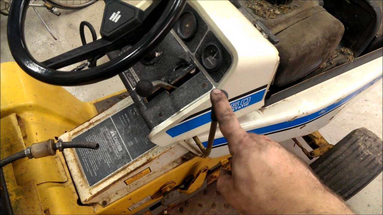 hight resolution of new cub cadet 1450 youtubenew cub cadet 1450