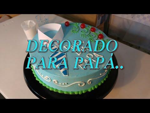 Pastel Decorado Para El Dia Del Padre