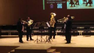 """Entreclases Brass Suite Americana E. Crespo """"Bossa Nova"""""""
