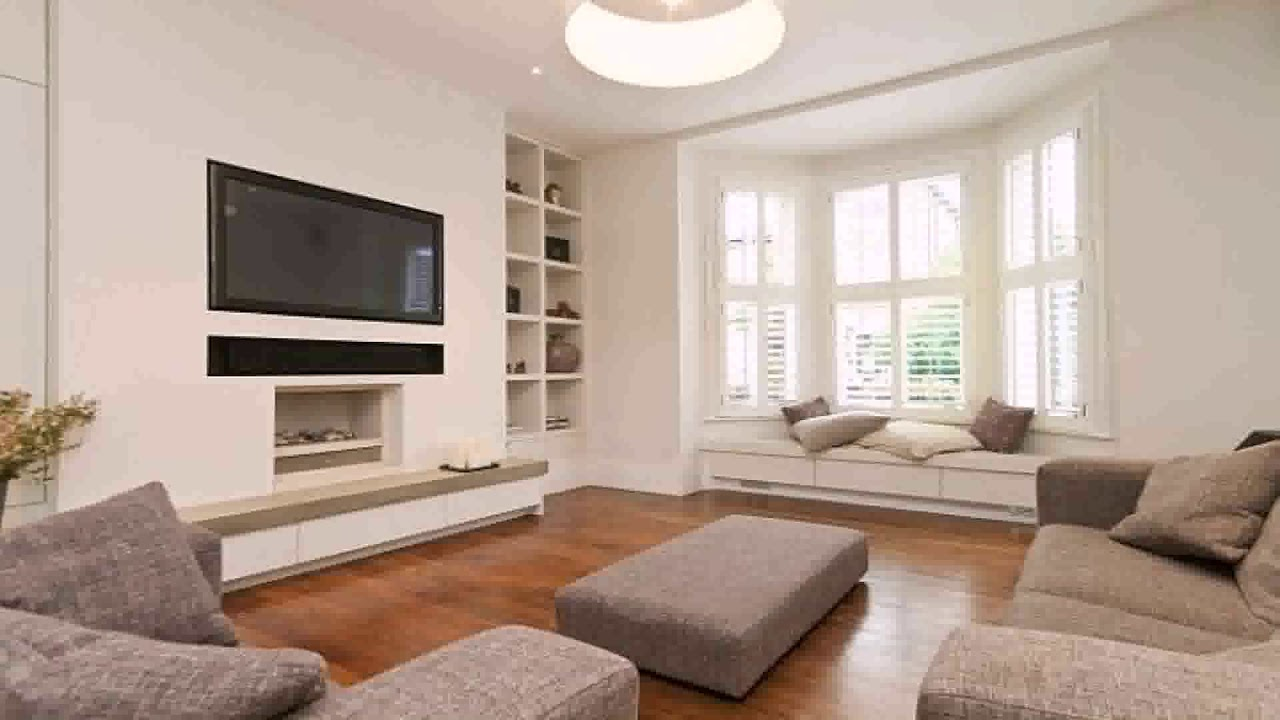 Living Room Design Tv In Front Of Window Youtube