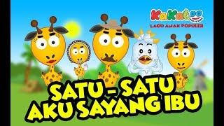 Satu-Satu Aku Sayang Ibu | Versi Baru - Kakatoo (Lagu Anak Indonesia)