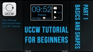 UCCW - Android Beginner Tutorial Part 1 (Options, Shapes)