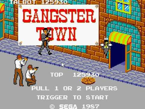Gangster Town - Sega Master System - Full Game