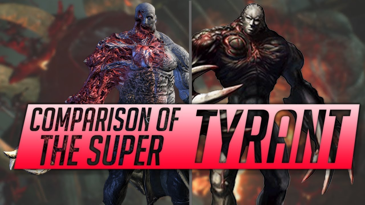 Mr X Resident Evil 2 Remake Super Tyrant Comparison Re2 Remake
