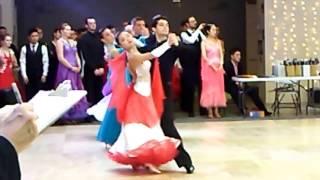 Harvard Invitational Ballroom Dance Competition 2017 Tango 2