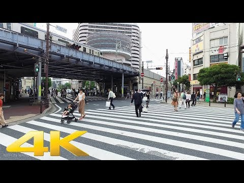 Walking around Chiba station, Chiba pref. - Long Take【千葉・千葉駅】 4K
