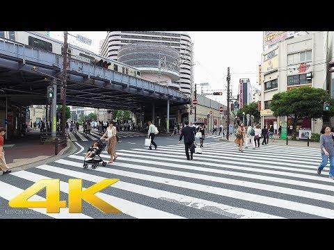 Walking around Chiba station, Chiba pref. - Long Take【千葉・千葉駅】 4K
