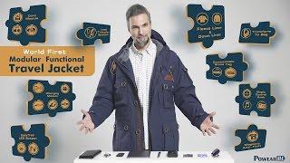 PowearIN2.0 World First Modular Multipurpose Travel Jacket Lite/ 10 Languages