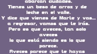 Mi Marciana - Alejandro Sanz - Letra