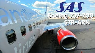 ✈FLIGHT REPORT | SAS Scandinavian Airlines (Economy) | Stuttgart - Stockholm | Boeing 737-700