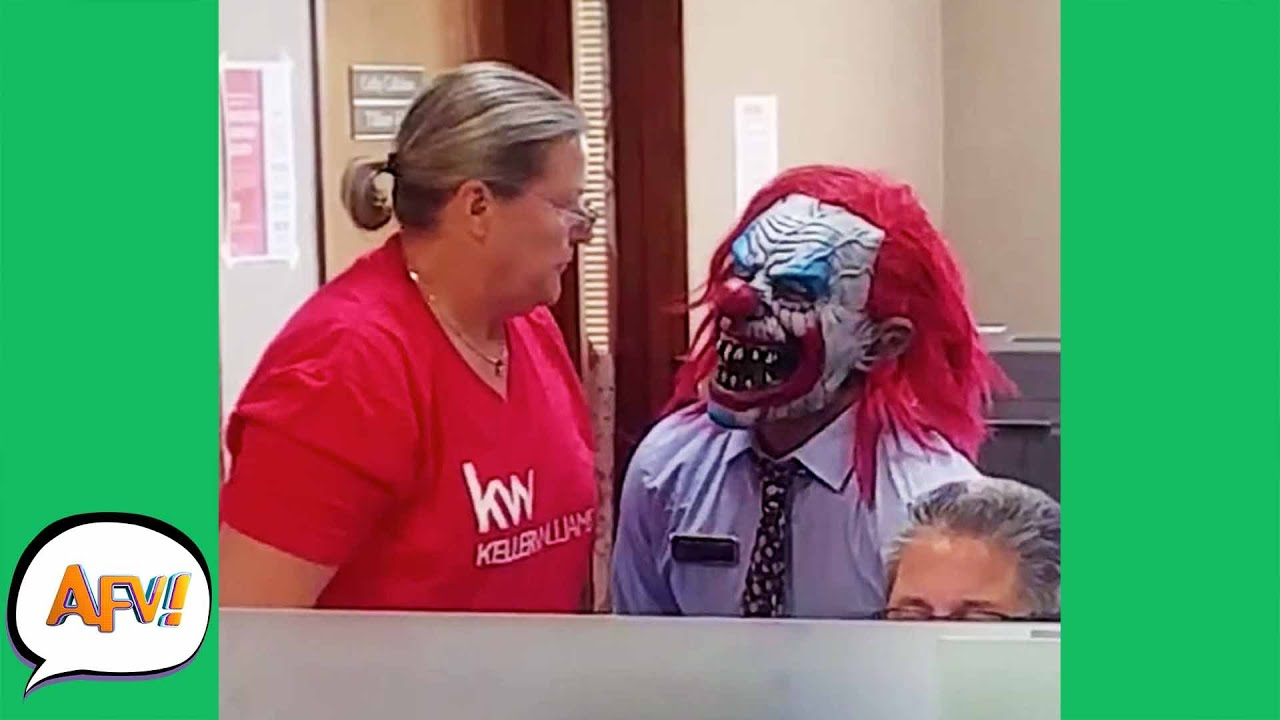 CLOWN Got Your FAIL?! 😱 😂 | Funny Pranks | AFV 2021