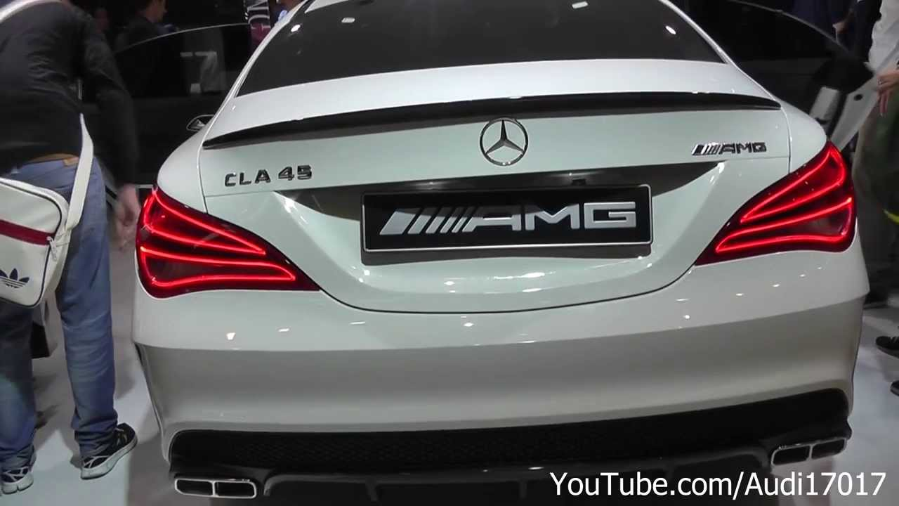 2014 Mercedes Cla 45 Amg Edition 1 Iaa 2013 Full Hd
