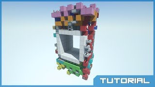 Tiny 6x6 Seamless Door Tutorial! w/ Dico! [1260 blocks!]