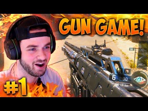"""EPIC COMEBACK...!?"" - Black Ops 3 GUN GAME! #1 - LIVE w/ Ali-A"