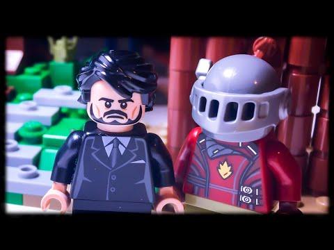 Custom LEGO Fortnite Figures: The Reaper And Rust Lord Showcase