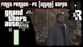 "GTA 5: PC - First Person ♫ Ryda Radio [Ep01] ► ""Franklin"