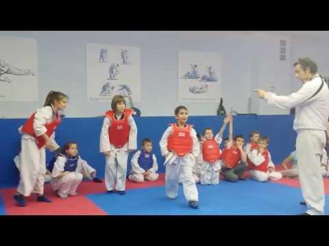 тренировка тхэквондо