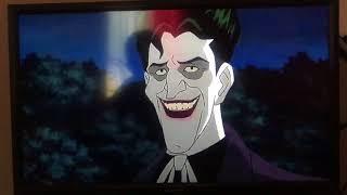 Joker makes Batman laugh