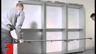 Richelieu Hardware - Coplanar Sliding Door Set For Wardrobe: Assembly